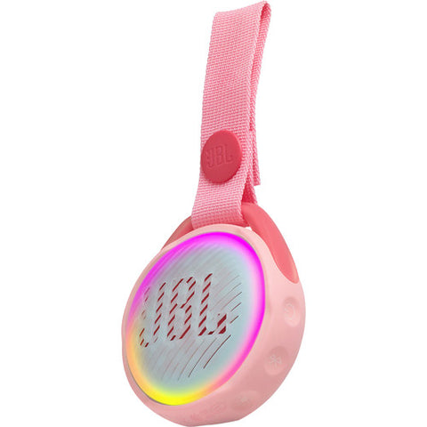 JBL JBLJRPOPPIKAM Kids Portable Bluetooth Speaker (Rose Pink)