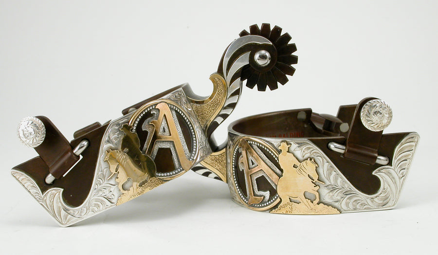 Custom Designed Western Spurs
