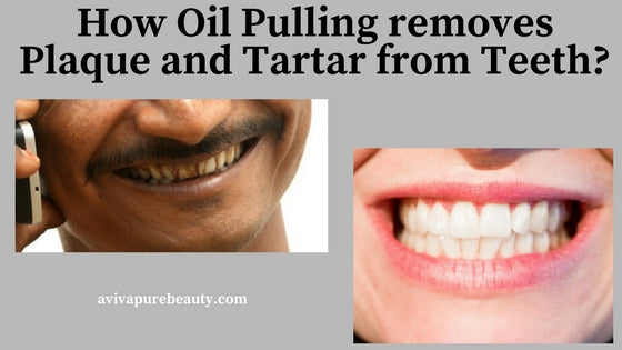 How Coconut Oil Pulling Removes Tartar and Plaque on Teeth – Aviva Pure