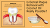 Is Dental Plaque Removal with Coconut Oil Really Possible?