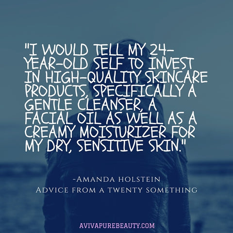 Amanda Holstein Beauty Quote