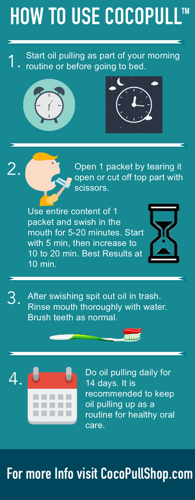 How to do oil pulling correctly - oil pulling benefits