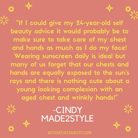 Cindy beauty quote