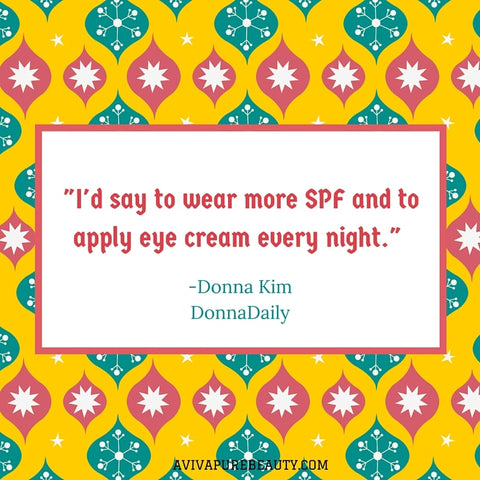Donna Kim beauty quote