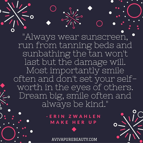Erin Zwahlen beauty quote