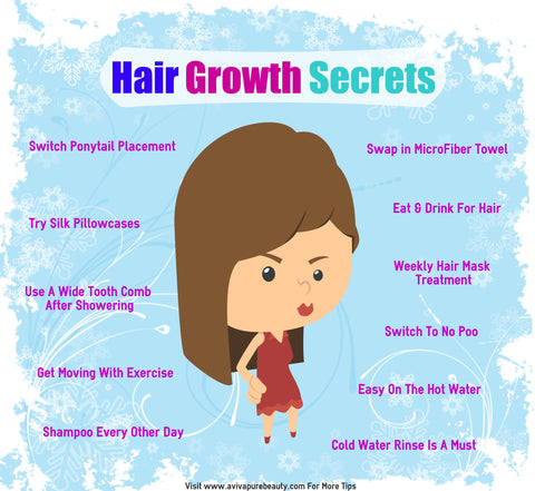 secrets of hair growth