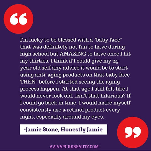Jamie Stone beauty quote