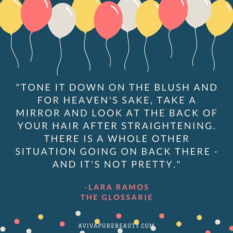 Lara Ramos beauty quote