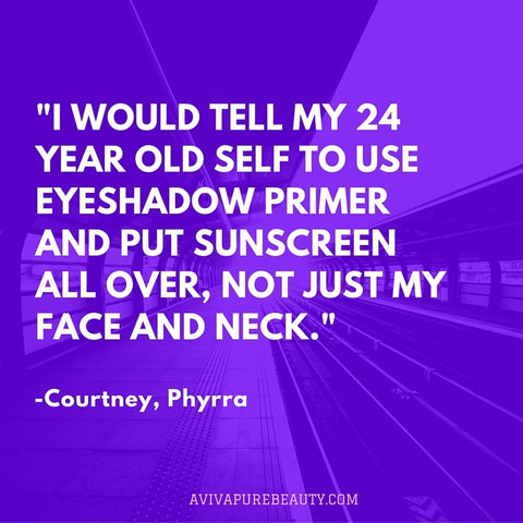 Courtney, Phyrra Beauty Quote