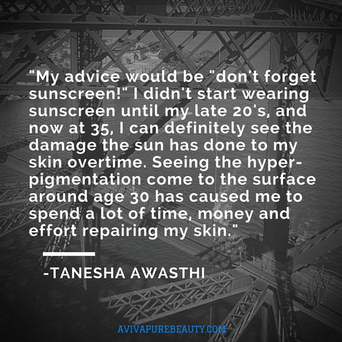 Tanesha Awasthi Beauty Quote