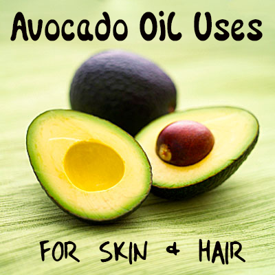 Avocado Oil for Skin & Hair