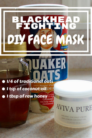 coconut oil oaks honey face mask