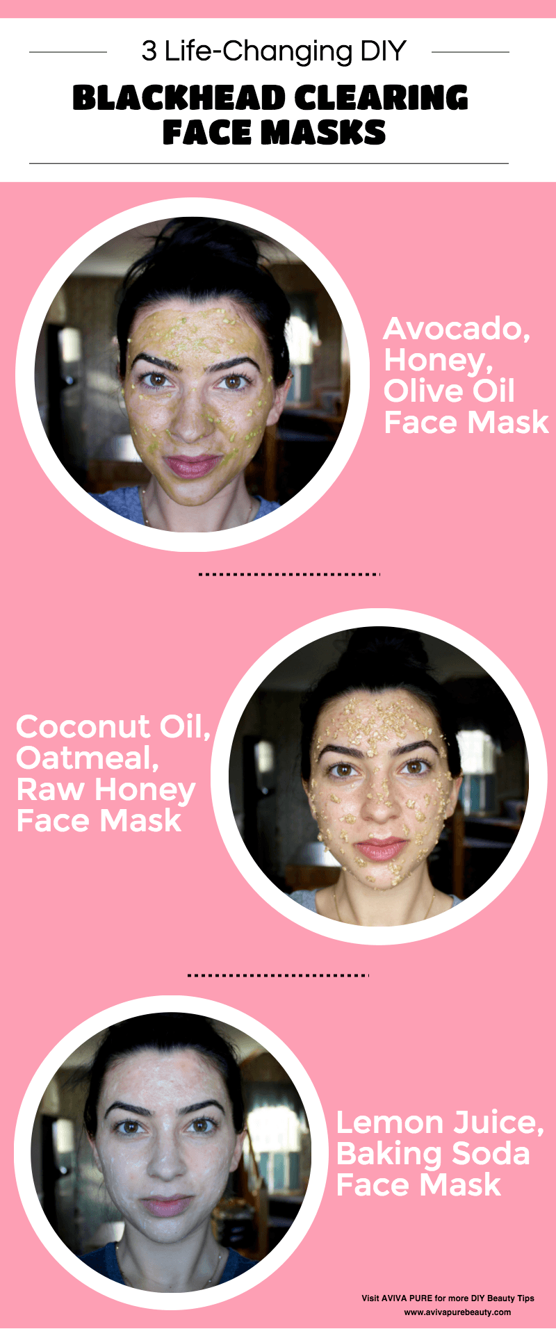 Diy face masks for blackheads natural face masks that work aviva diy blackhead face mask infographic solutioingenieria Image collections
