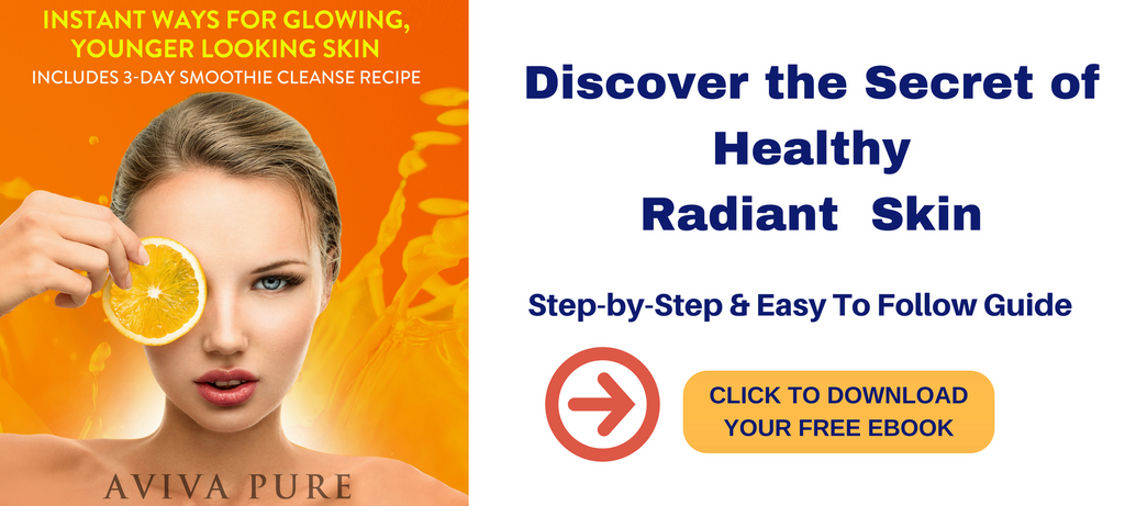 free ebook the secret of healthy radiant flowing skin by Aviva Pure