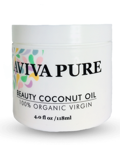 Aviva Pure Organic Coconut Oil for Skin, Coconut Oil for Face, Hair and Body - Aviva Pure