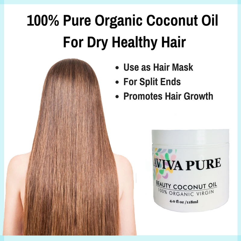 organic virgin coconut oil is the best hair oil, use it as hair mask, for dry hair