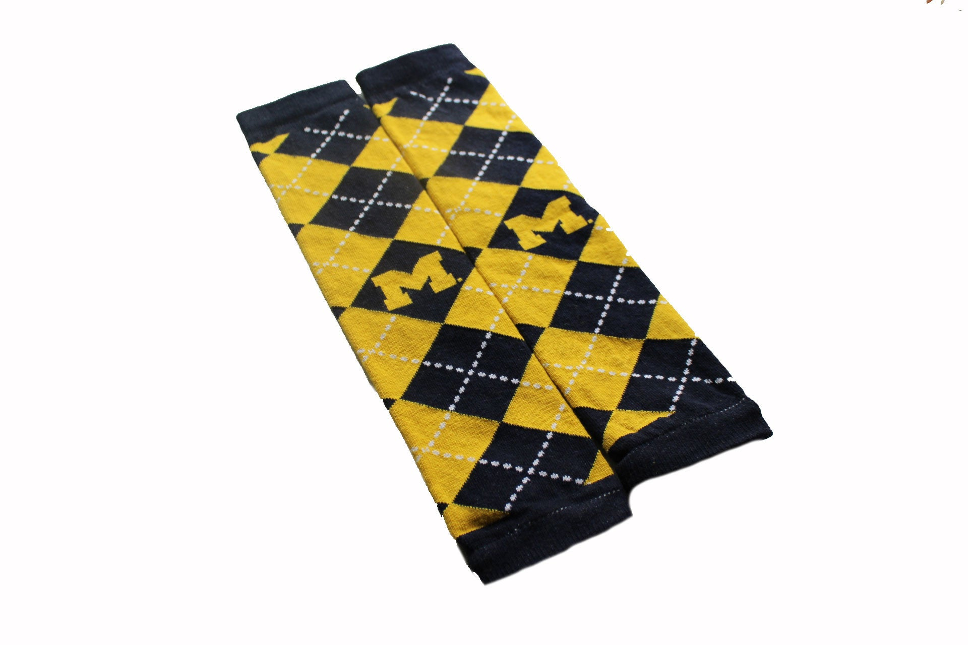 University of Michigan Wolverines Baby and Child Leg Warmers Logo