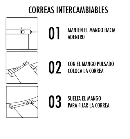 Correas Intercambiables BREEF