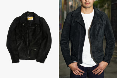 GEAR PATROL | 3SIXTEEN X SCHOTT Collaboration  | This Limited-Edition Jacket Features a Unique Leather from Horween