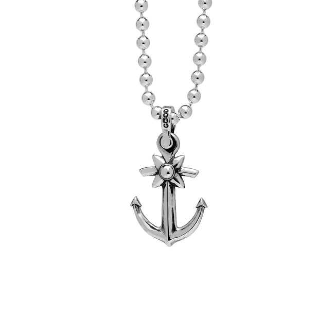 Spanish Anchor Pendant, Sterling