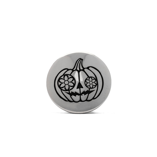 Pumpkin Spiced Button