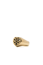 Heart Signet Ring, 22K