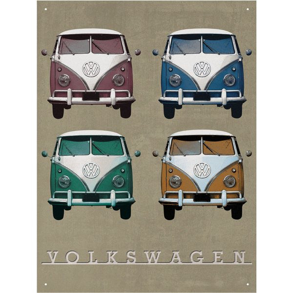 Genuine VW Officially Licensed Metal sign