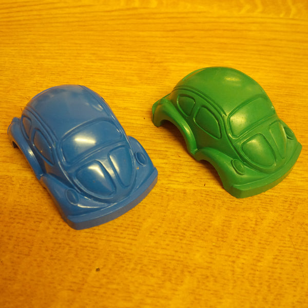 Novelty VW Beetle Shaped Crayons Buy 4, get a 5th free!