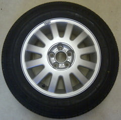Genuine Audi Alloy wheel  with GOODYEAR 195/65/15 91V tyre fitted and balanced 8L0601025