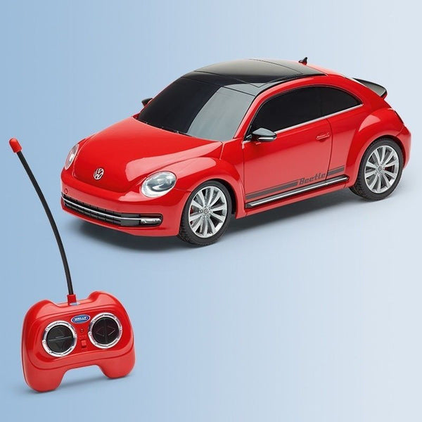 Genuine Volkswagen accessory, remote controlled beetle in red. Scale 1:24