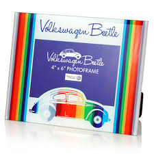 Genuine VW Beetle glass photoframe