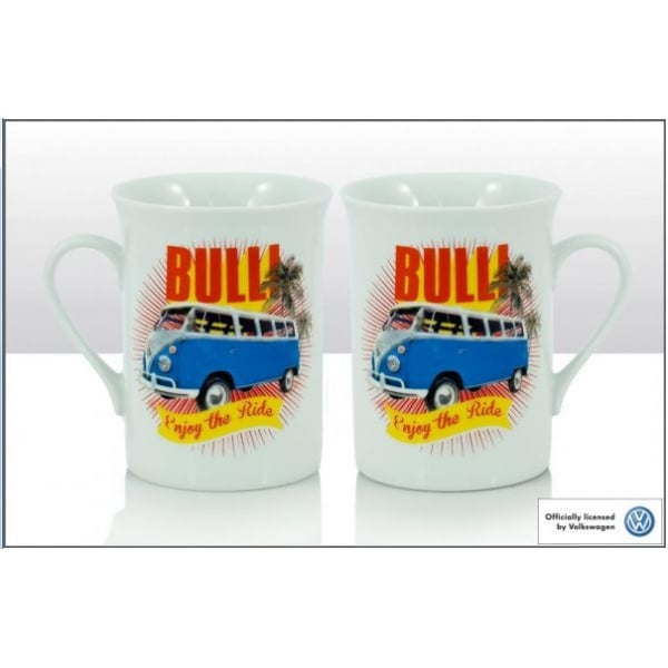 Genuine VW lippy mug in Bulli design 1