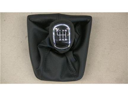 Genuine Skoda leather gearstick cover 3T0711113NA0S