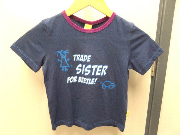 Genuine VW Children's short Sleeve T-shirt -Trade Sister For Beetle 5C0084220A 274