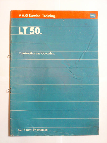 USED Genuine VW LT 50 Self Study Programme
