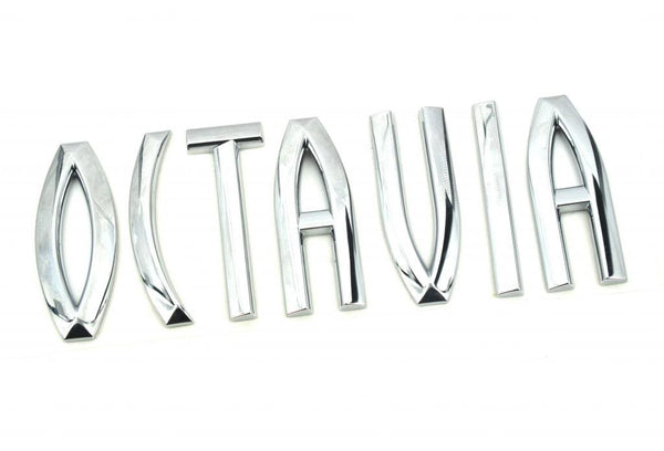 Genuine Skoda 'OCTAVIA' Badge 1Z0853687 739