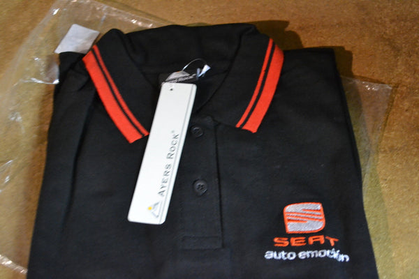 Reduced  - Genuine SEAT Ladies Polo Shirt Size 12-14 (also available 8-10 & 16-18)