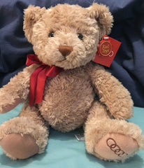 Genuine Audi 25cm sherwood teddy bear with red bow ZGB3211013020