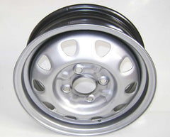 Genuine Skoda steel wheel silver 6U7601027B