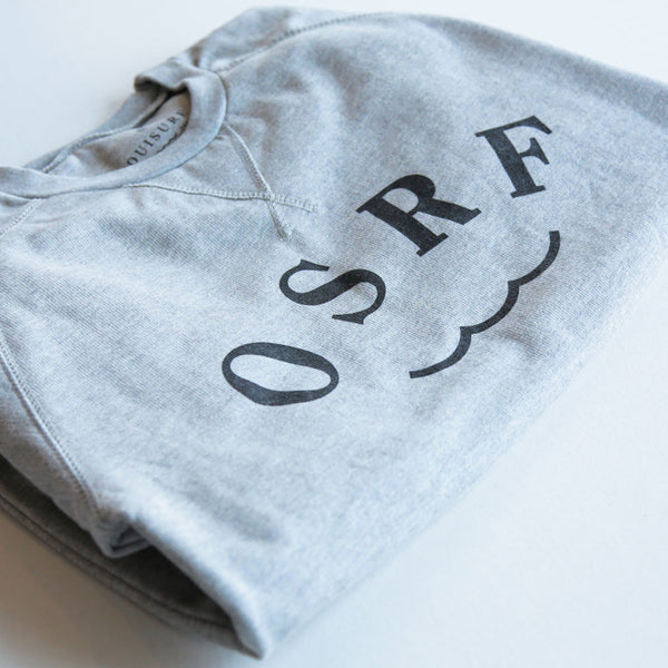 Crew Neck OuiSurf Grey