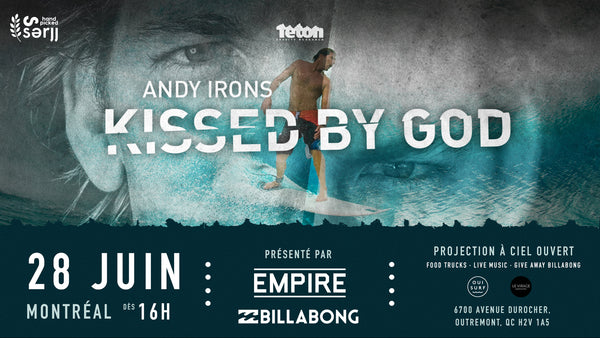 Montréal: Projection Andy Iron - Kissed by god @ Le Virage MTL