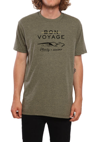 Donegal Men Tee - SAGE BLACK