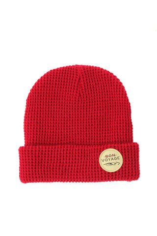 Donegal Beanie - DARK BRICK