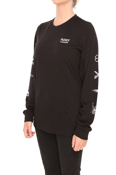 Juliano Unisex Long Sleeve - BLACK