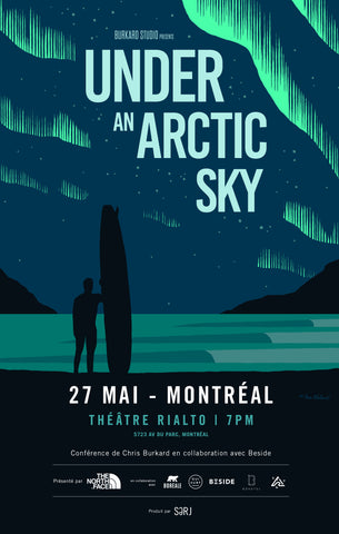 Montréal: Projection de UNDER AN ARTIC SKY + Conférence de Chris Burkard