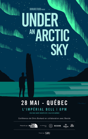 Québec: Projection de UNDER AN ARTIC SKY + Conférence de Chris Burkard
