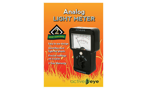 Analog Light Meter