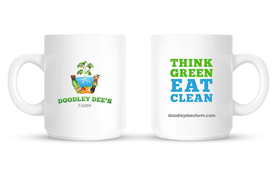 Think Green Eat Clean Mug