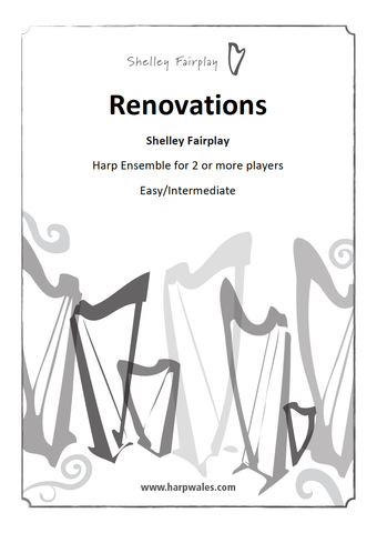 Renovations - Original Harp Ensemble/Duet for Two or more players