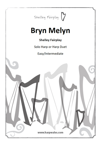 Bryn Melyn - New Harp Solo / Optional Duet